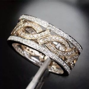 Gorgeous.925 silver and gold ring
